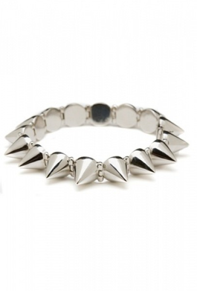 Cc Skye Mercy Spike Bracelet In Silver by Boutique to you I love this bracelet