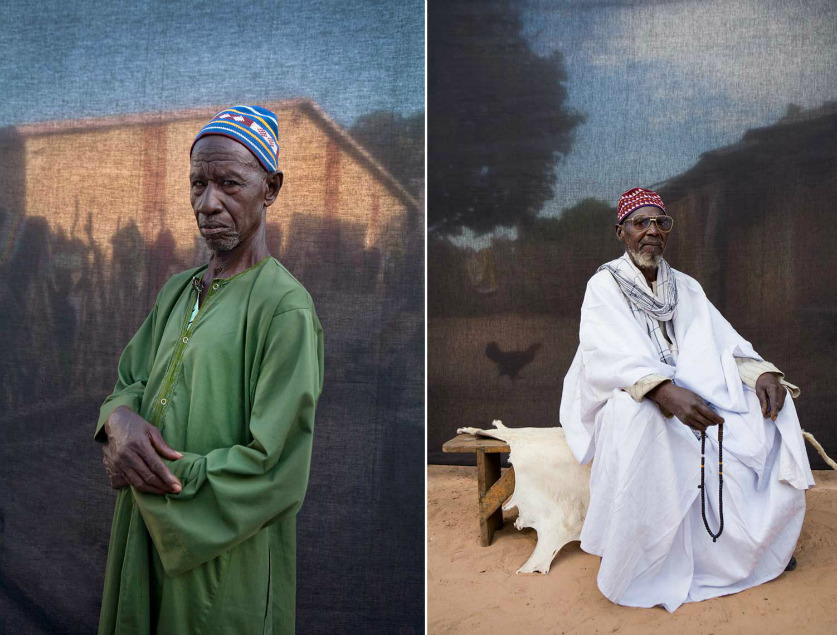 'Silafando' - Award-winning portraits of village chiefs, 'Alkalos', and elders by Jason Florio  Taken whilst on a 930km walk around the small West African country of The Gambia - 2009