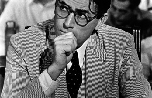 Gregory Peck in To Kill A Mockinbird- 1962