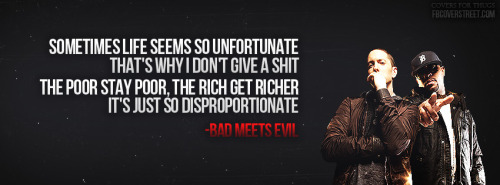 Bad Meets Evil Facebook Covers