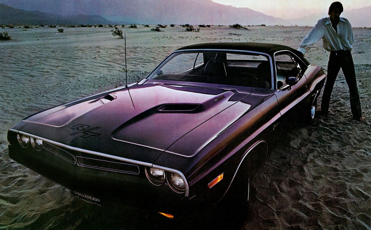 1971 Dodge Challenger a.k.a. my new wallpaper