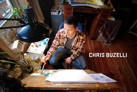 "Chris knows what it takes to live and work as an illustrator in New York City—in his words, ""It's going to take a while, but if you really love it, you'll figure out a way to do it."" And he has. His work combines nature, symbolism, and a dash of surreal imagery that we just can't resist. When we talked, Chris was thoughtful and kind; he opened up about his journey as an artist that started with painting side by side with his grandfather. Honestly, and with great insight, Chris recounted his path from being a kid fresh out of college to finally finding his footing as a full-time freelance illustrator. And with wit and humor, he told stories about his ""wax on, wax off"" lesson, how a wicked knee injury became a catalyst for an illustration ""aha"" moment, and his foray into the wild, but wonderful, world of teaching. Thanks, Chris, and cheers to not having a Plan B.  Read the interview →"
