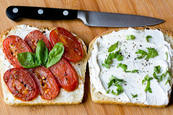 Tomato Basil Sandwiches     (click image for recipe)