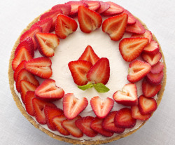 epicurious:  A quick and easy recipe to try this weekend… No Bake Strawberry Cheesecake