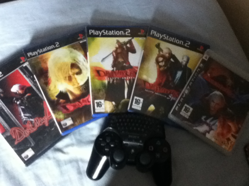 Obsessed much?! I even have DMC 3 on pc too haha. Kinda kicking myself that I didn't get the collectors DMC 4 though :-(  Can't wait for the DMC HD collection and this new DMC everyone is slating (even though it's not out yet :-S)  *edit* I even have the animated series too but I forgot to put that in…