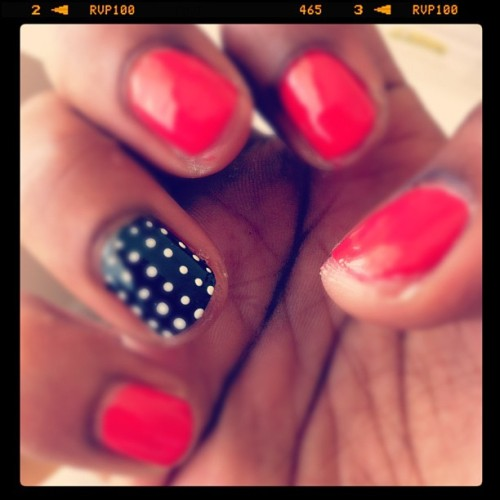 Nails of the Day (Taken with instagram)