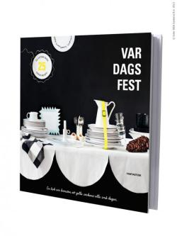 Var dags fest (Every day party) is a new book from Ikea.