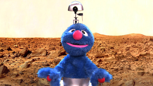 teamcoco:  The Mars Grover — unholy union of NASA & PBS [video]