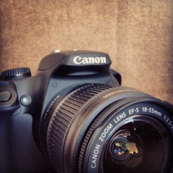 New Canon XS. Now we're cookin'. (Taken with instagram)