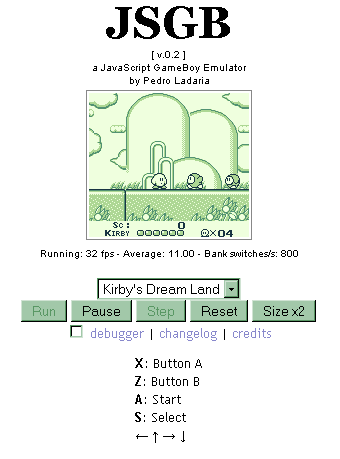Classic Gameboy games on the browser