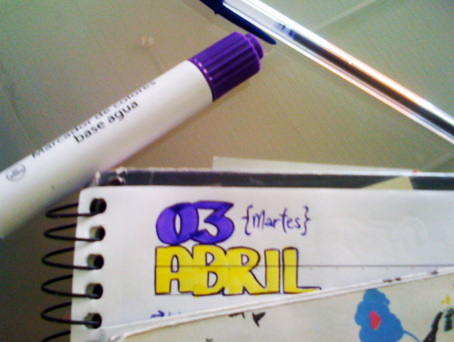 fool my purple. (3 de abril)