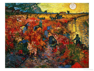 Vincent Van Gogh, The Red Vinyard