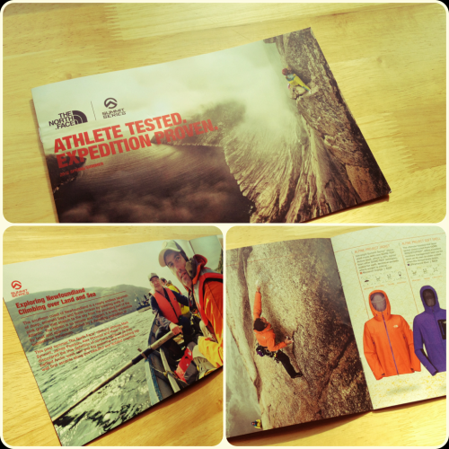 Just Out: A limited edition The North Face summer mailer was just released; loaded entirely with my images and a short blurb from Newfoundland. Unexpected and well done - check it out.