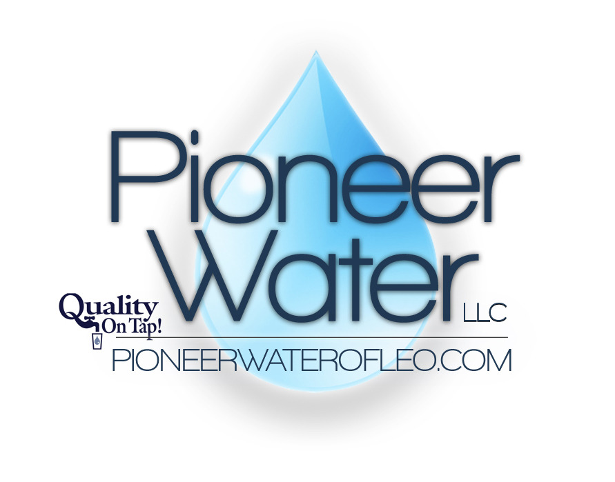 This is the new logo created for Pioneer Water. Their website will be completed later this month which will allow for news, information, links, and payments to be made online.