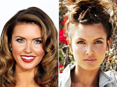 How beautiful does Audrina Patridge look in this makeunder by xojane? I've always thought she was stunning, and these are probably my favorite pics of her. Love it!