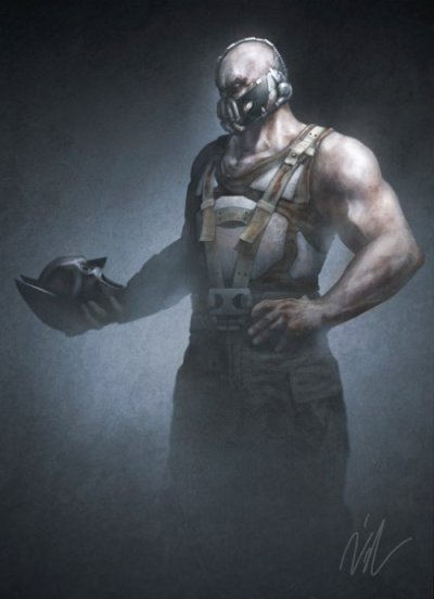 crashbaby:  Bane As Hamelet By Maxbat  http://maxbat.deviantart.com/art/Foul-Deeds-Will-Rise-292025261