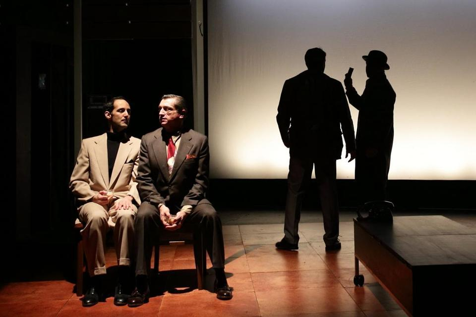 "STAGE REVIEW 'Temperamentals' recalls '50s gay-rights pioneers  - ""The Temperamentals"" is a drama about the men who put their lives on the line by founding the Mattachine Society to fight discrimination against homosexuals."