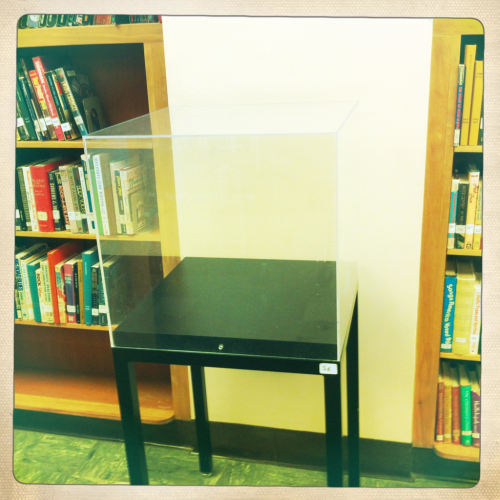 Item number 56: 8 cubic feel of library air.