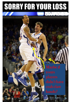 Sorry for your loss #Kansas but you should have seen this coming.