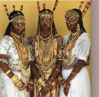 Afar women, Horn of Africa.