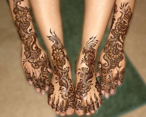 indiaincredible:  Love mehendi!