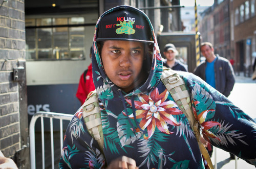 Odd Future - OFWGKTA (Jasper Dolphin) Shot this at the London Odd Future Sweatshop in Brick Lane March 2012