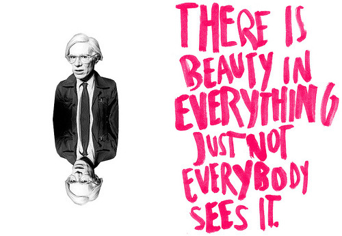 showslow:  - Andy Warhol