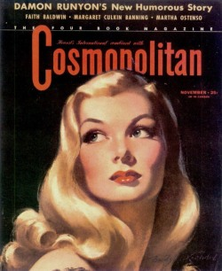 (via lovelyritablog.com) Veronica Lake Illustration: Bradshaw Crandell