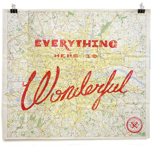 showslow:  Everything Here Is Wonderful Maps