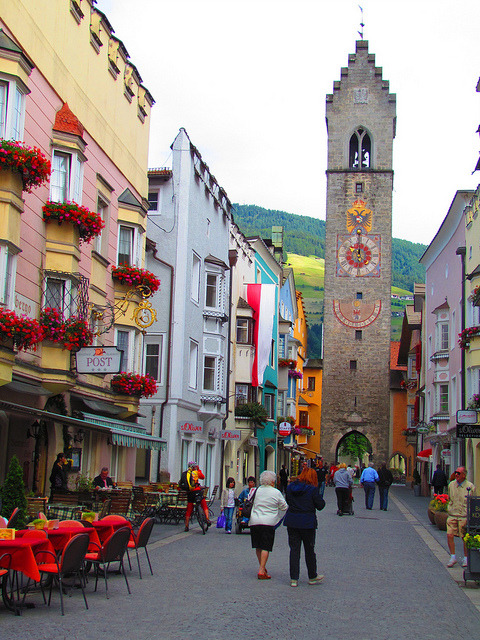 bluepueblo:  City Gate, Sudtirol, Italy photo via weall