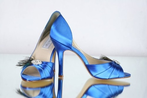 Peacock Wedding Shoes  http://www.etsy.com/listing/69242875/peacock-shoes-wedding-blue-shoes-peacock