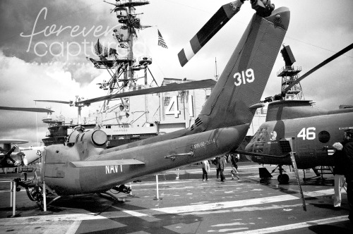 ~ Day 81 ~ USS Midway ~ Black & White ~