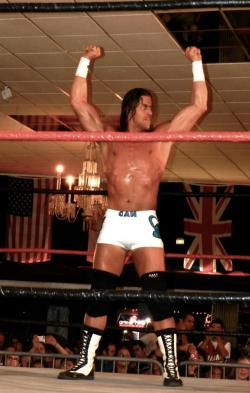 Steven Richards at ICW's Lucha Fest III. Photo by Alina.  ICWmiami.com