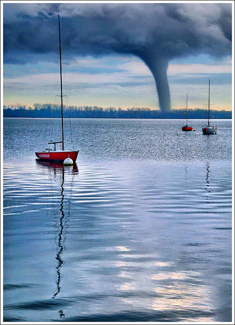 Flat Calm by Jean-Michel Priaux on Flickr.Tornadoes in Dallas today!