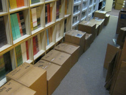polyvinylrecords: Will the row of packages containing Record Store Day titles snake its way into our back room. Or will we run out of limited edition vinyl first?? The race is on…! P.S. Interested in seeing what those boxes might contain? Check out our list of releases here and try to grab one at your favorite indie record store on April 21.