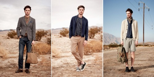 Club Monaco Spring 2012 Lookbook Shots