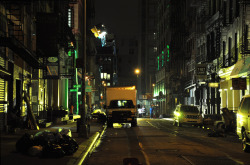 new-yorkcity:  Urban Calamity, Lower East Side. Click through for a larger version