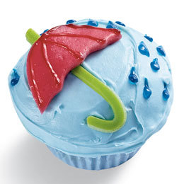 (via Spring Showers Cupcake | Holiday & Seasonal Cupcakes | FamilyFun)