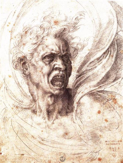 The Damned Soul by Francesco De Rossi/Francesco Salviati