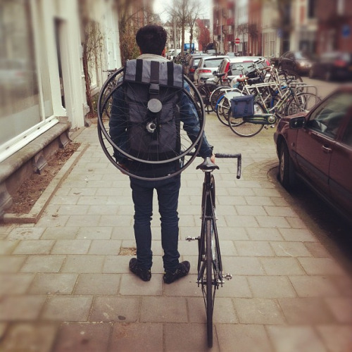 Mission Workshops rucksack.