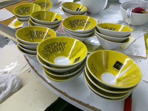 Decal production line. 2012 SPAL oficial gift
