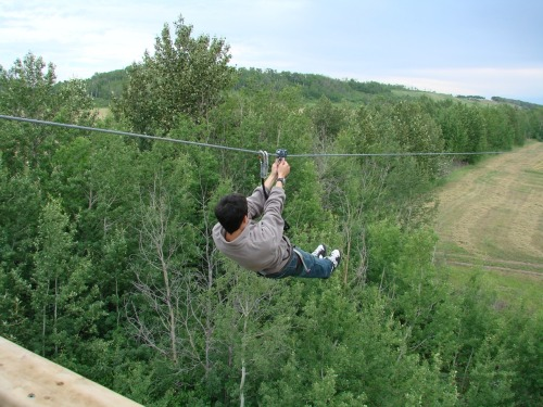 GO ZIP LINING AT METIS CROSSING!!! http://issuu.com/tourismsolutions/docs/metis_crossing_brochure_2010
