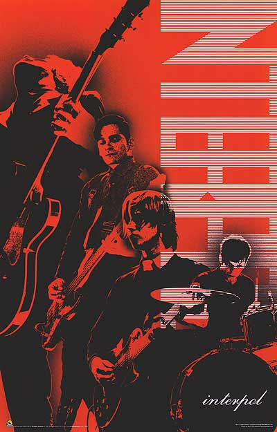 songseven:  Epic Interpol poster is epic!