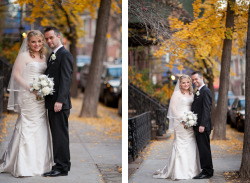 KHARA & ADAM GET MARRIED: This couple was originally married in England (the groom is British) so this 're-creation' was a de facto party for family and friends in the U.S.