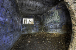 Bunker HDR Fisheye by roksvaag on Flickr.
