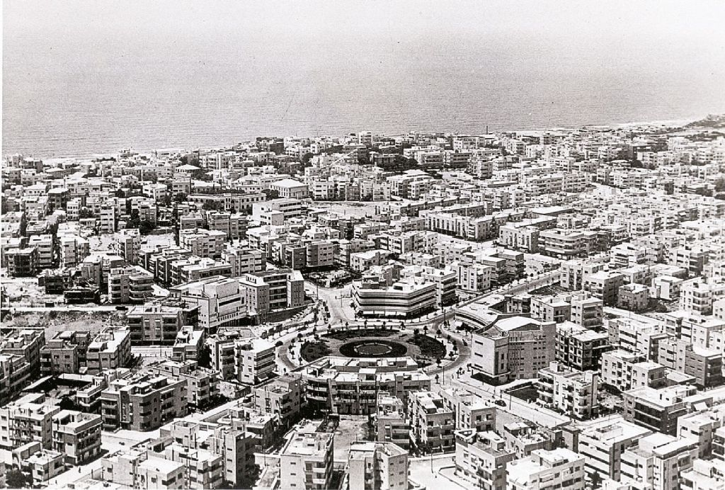 Aerial view of the White City in Tel Aviv, 1930s The White City is a collection of over 4,000 Bauhaus style buildings built in Tel Aviv in the 1930s by Jewish German architects. It is considered one the most important examples of early 20th century architecture and urban planning.