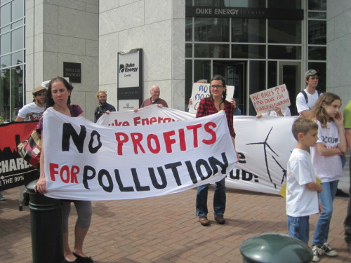 No profits for pollution!