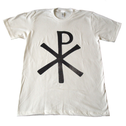 "Brand of the Day: Check out Dallas brand, HIJ Clothing, and his latest t-shirt! Hugo, Mr. HIJ himself, is going to Macedonia for a summer mission trip. To help raise funds he made the ""Chi Rho Mission"" tee, all funds will go to transportation, living, and basic necessities during his two week stay! Help him out and for more of HIJ go to http://www.hijclothing.com/ and follow him on Twitter @HIJClothing BUY THE TEE! —Jazmen aka Jazzy Beats"
