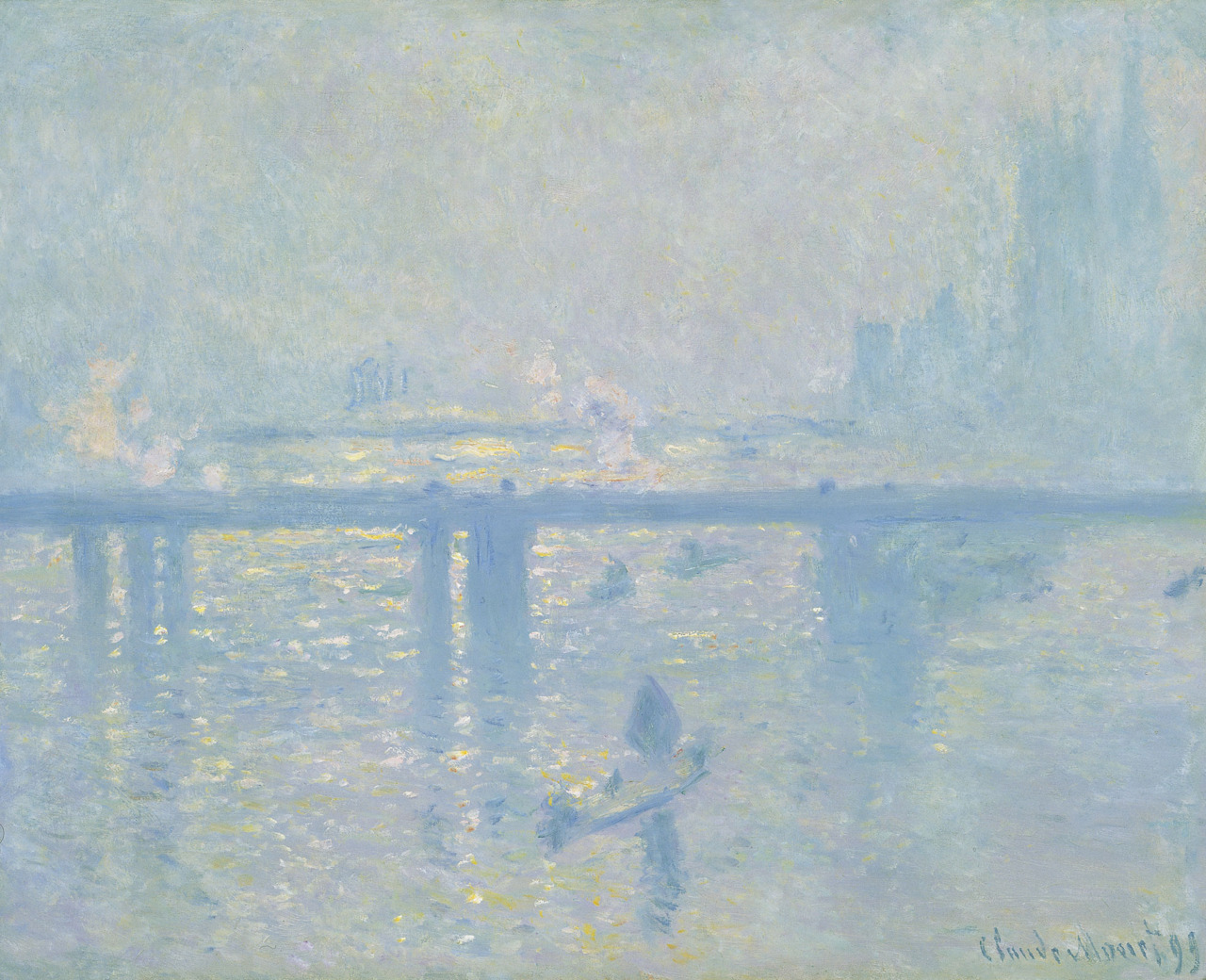 "Claude Monet, ""Charing Cross Bridge"" (1899)"