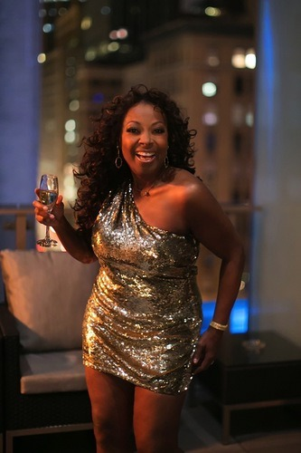 Star Jones' new twitter photo has derailed my evening.